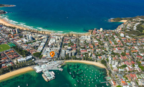 Waterfront East Esplanade, Manly microbrewery premises for sale