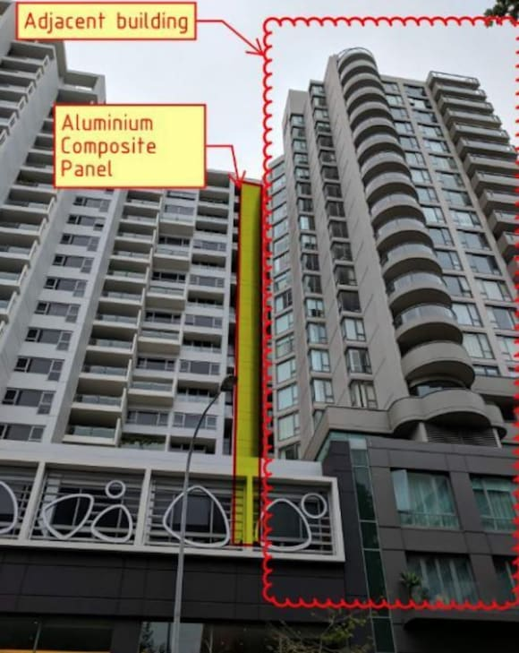 Fire catastrophe risk at Mirvac's Ikon, Potts Point apartment complex