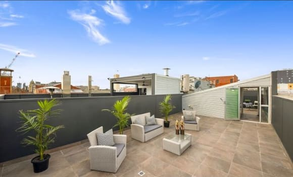 Four-level Prahran townhouse with rooftop terrace on the market