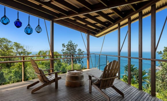Peter Stutchbury's Whale Beach Wedge house sold