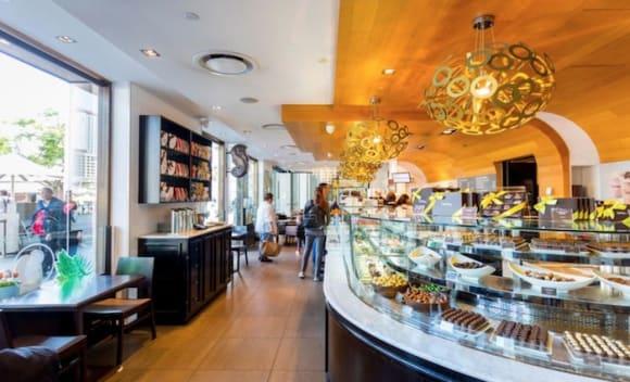 Opera Quays home of Guylian Belgium Chocolate Café listed