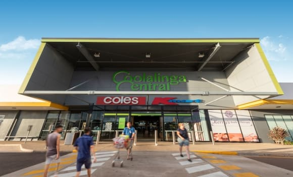 Near new Darwin shopping centre offered to market