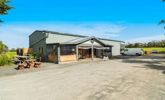 Phillip Island property with farm, butcher shop and cafe sells for <img src=