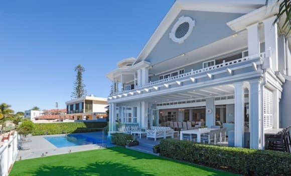 Yacht Street, Southport trophy home sold for  million
