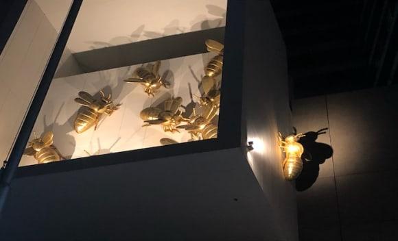 Melbourne's Eureka Tower gets illuminated golden bees in new Richard Stringer public art installation