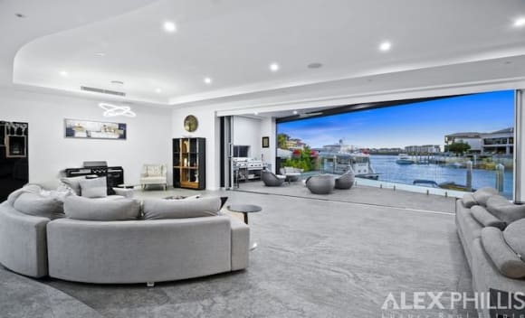 Sovereign Islands waterfront home listed for  million