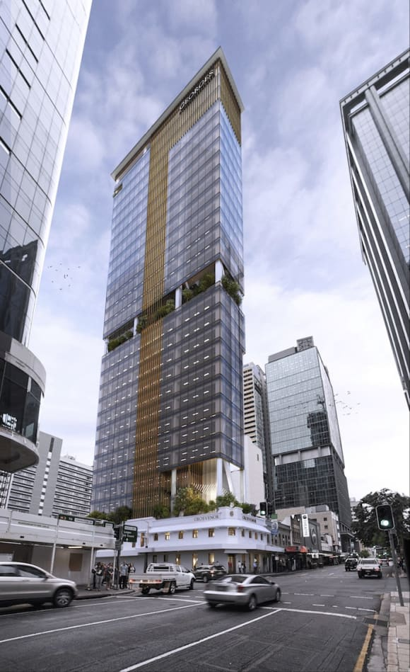 DA approved for one of Brisbane's narrowest highrise buildings