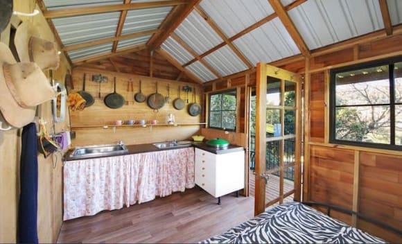 Sunshine Coast hinterland 40 acre property with two homes Sweetwater listed