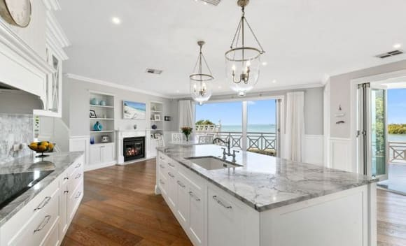 Redlands Hampton-style waterfront trophy home listed