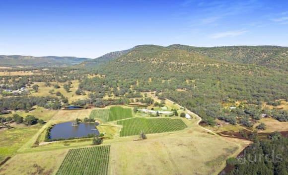 British baron Robin Tedder lists Hunter Valley vineyard estate, Glenguin