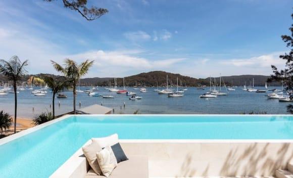 Jennifer Hawkins and Jake Wall sell Newport waterfront
