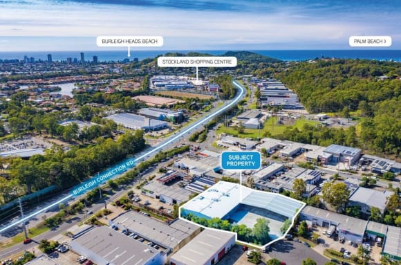 Potter Projects acquires  million Burleigh site for new warehouse development