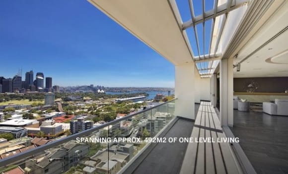 Darlinghurst sub-penthouse with Sydney harbour views hits the market