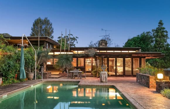 Mirrabooka at Castle Hill, designed by Bruce Rickard, listed for the first time