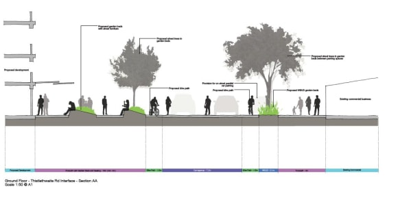 High-rises can work with the public realm