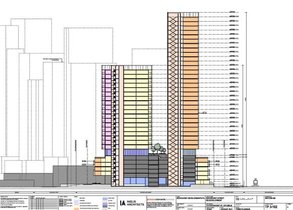 FISHERMANS BEND ZONE   2-4 Buckhurst Street   ~120m   37L & 26L   Residential