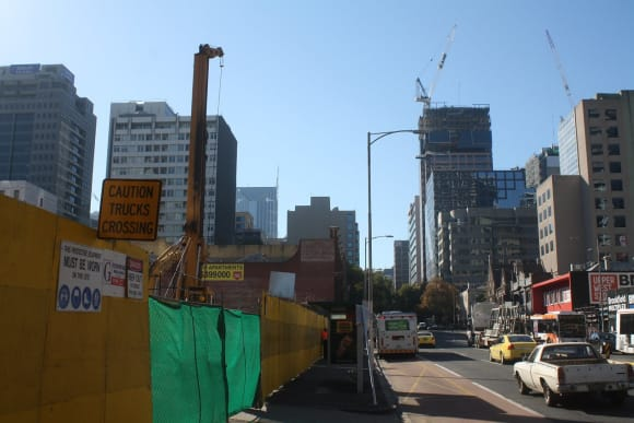 CBD   West Side Place   250 Spencer Street   4 towers   270m   79L   Residential