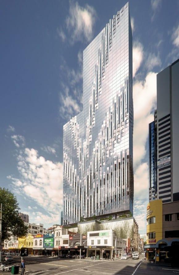 CBD   380 Melbourne   380 Lonsdale Street   213m & 166m   70L & 55L   Mixed Use