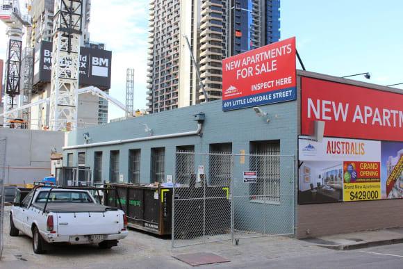 CBD   Australis Apartments   601 Little Lonsdale Street   46L   Residential