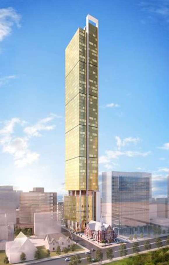 Perth's 10 future tallest buildings
