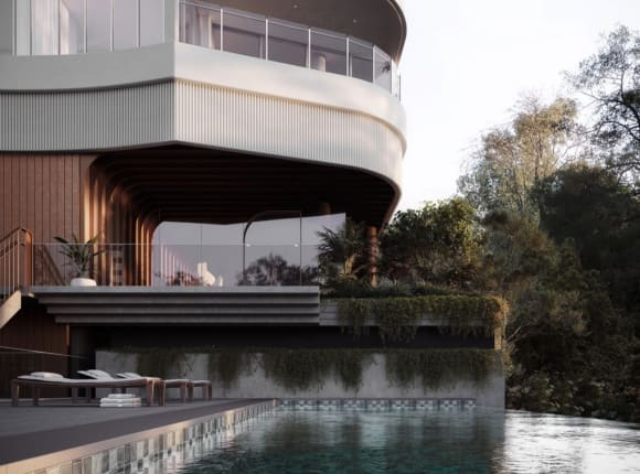 160 Macquarie, St Lucia's first riverfront apartment development in over a decade, now 70% sold