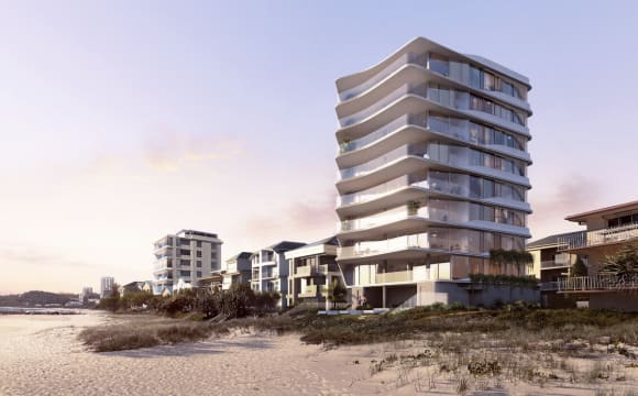 First look: New Palm Beach, Gold Coast boutique beachfront apartment tower