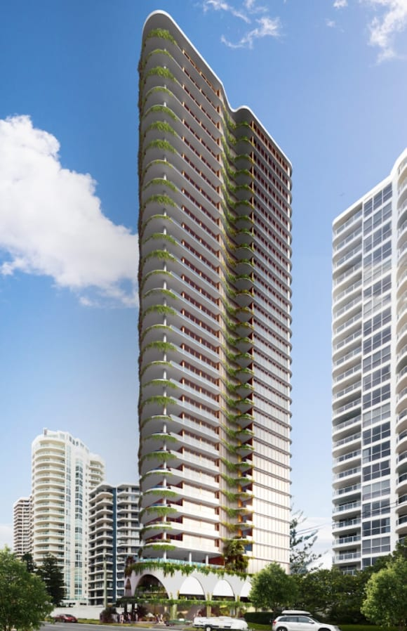 Tower reveal: Polites Property Group and Descon lodge plans for Main Beach tower La Mer
