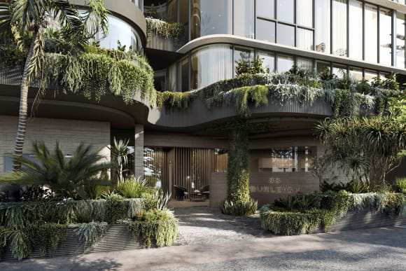 Sales launch at Allure's  million Gold Coast apartment tower 88 Burleigh