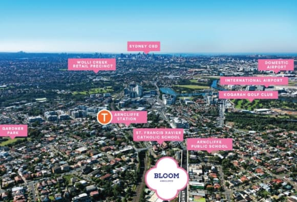 Walking tour: What's within walking distance from Bloom Arncliffe?