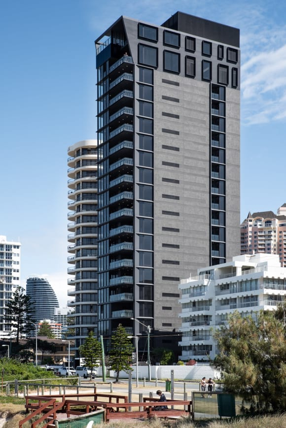 .1 million sub-penthouse resale at recently completed, sold out 31 Broadbeach