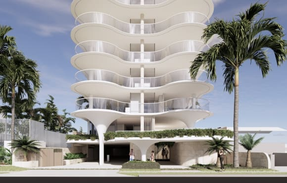 Tower reveal: Burleigh Heads set for new Koichi Takada apartment tower by FORME