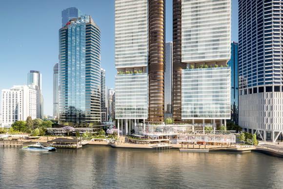 Property giant, Dexus, lodge plans for 2.1 billion Brisbane waterfront renewal