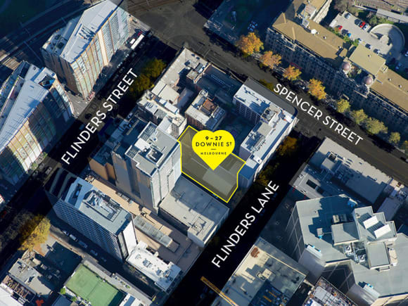 CBD   9-27 Downie Street   33L   106m   Residential