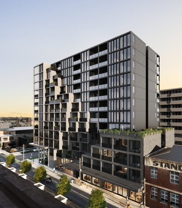 Rooftop living in the heart of Preston South