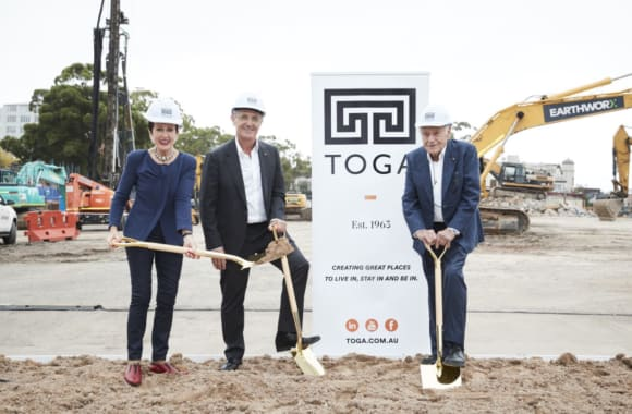 Surry Hills Village plans finalised as TOGA officially break ground