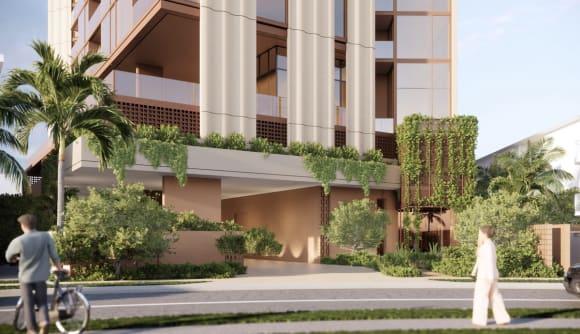Exclusive first look: Hirsch & Faigen lodge plans for Mermaid Beach apartment tower, Yves
