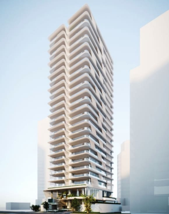 Take a look at Main Beach's newest apartment tower