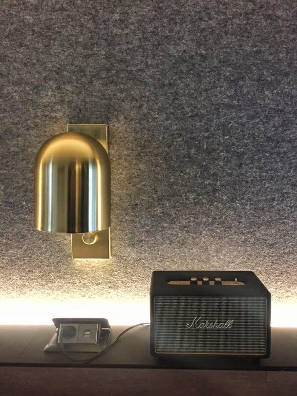 Marshall bluetooth speakers in each room