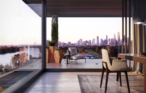 K1 Residences: 13 levels, 13 full-floor apartments in Melbourne
