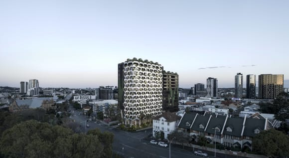 Keylin lodge plans for apartment and hotel development at Spring Hill in Brisbane's new Victoria Park Precinct