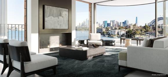 Kurraba Residences launch sells  million on Sydney's harbour