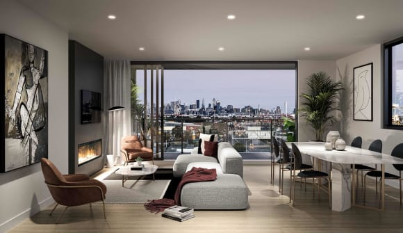 New riverside Footscray apartments listed from 5,000 at Moreville