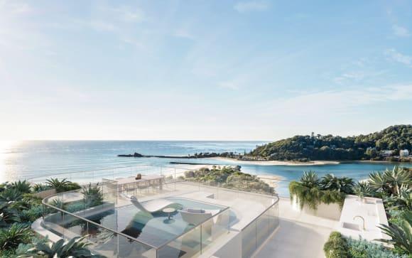 Sherpa lodge Perspective Nexus, new Palm Beach apartment development