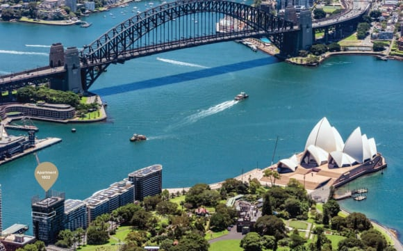Opera Residences, Circular Quay apartment listed for .5 million