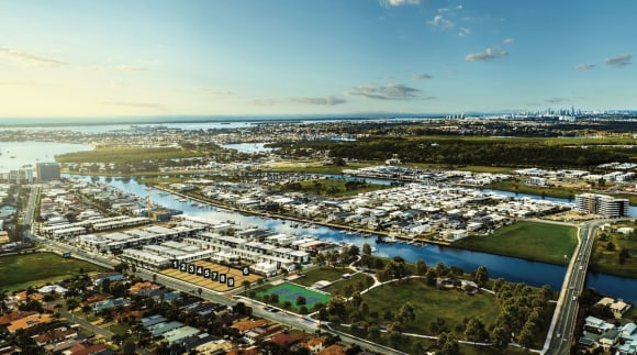 Keylin sell-out two Hope Island townhouse developments The Cove and Palladium