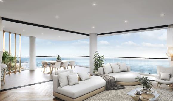 Sherpa sell-out Palm Beach apartment development Perspective Two Sea
