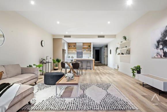 SJB designed Coast, Beaconsfield Parade, Port Melbourne apartment sells for <img alt=