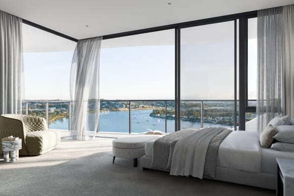 Valentine's Day: 8 luxury apartments with the most inviting bedrooms