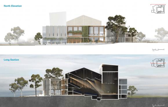 Three designs shortlisted for Sutherland Entertainment Centre's refurbishment