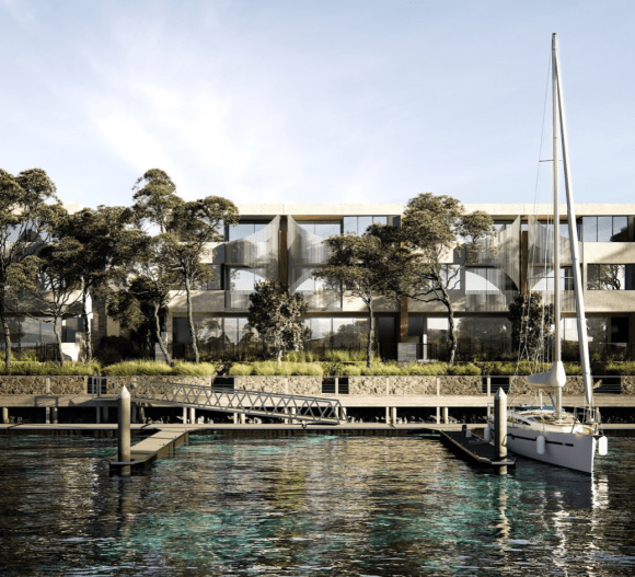 Victoria's Martha Cove is set to welcome 14 new luxury townhomes